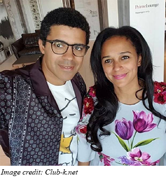 New Diamond Company Related To Isabel Dos Santos
